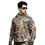 Military Tactical Men Jacket Shark Skin Soft Shell Waterproof Windproof Coat