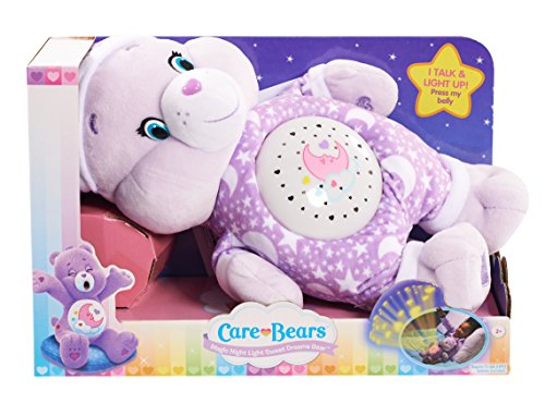 Care Bears Sweet Dreams Magic Night Light Bear Plush - Care Bears Stuffed Animals