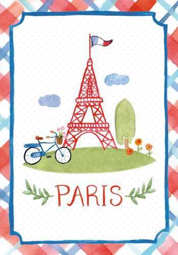 Paris Watercolor Pocket Journal - Paris Watercolor