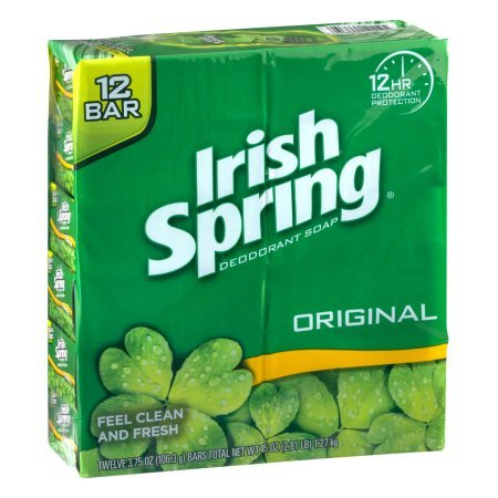 - Irish Spring Deodorant Soap Original - 12 CT