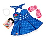 NEW! Our Generation Retro Dance Party Outfit with Accessories