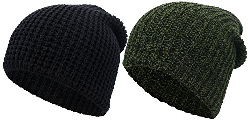 Simplicity Womens Stretchy Slouchy Beanie