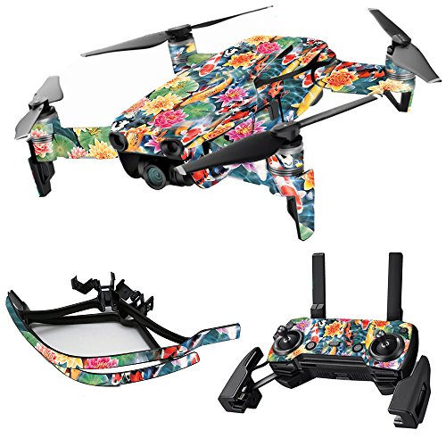 MightySkins Skin for DJI Max Coverage – Koi Pond | Protective, Durable, and Unique Vinyl Decal wrap Cover | Easy to Apply, Remove, and Change Styles | Made in The USA For Sale