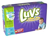 Health & Personal Care : Luvs Ultra Leakguards Diapers Size 2, 40 Count