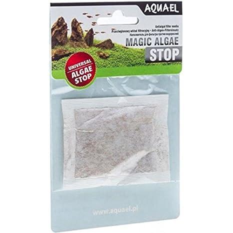 Aquael Magic Algae Stop - Suplemento antialgas para filtro purificador de agua para acuarios: Amazon.es: Hogar