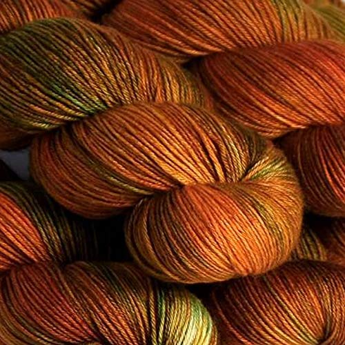 (Hedgehog Fibres Sock Yarn (Copper)