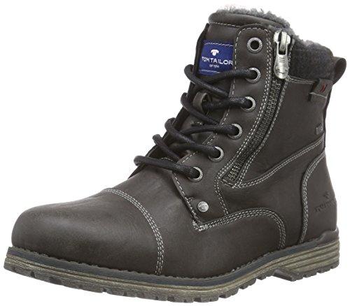 Tom Tailor Jungen Kurzschaft Stiefel Grau (Coal)