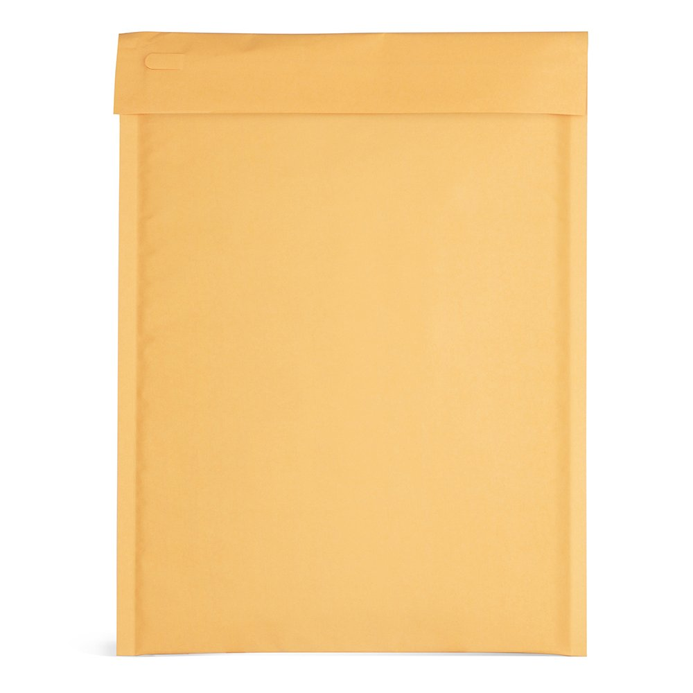 Fu Global Kraft Bubble Mailers 10.5x16 Padded Envelopes With Tear Strip Easy Open Bubble Envelopes #5 Pack of 25