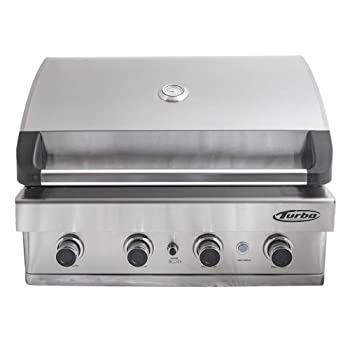 BARBEQUES GALORE 4-Burner 740sq. in Natural Gas Grill