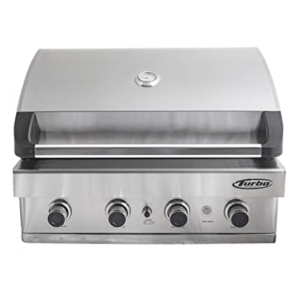 Amazon.com: 2017 Turbo 4-burner integrado – Parrilla de gas ...