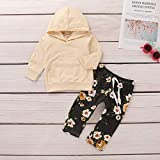 Toddler Baby Girl Clothes Long Sleeve Hoodie