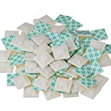 #10: eBoot 100 Pack Self Adhesive Cable Tie Base Holders, 20 mm x 20 mm x 4 mm, White