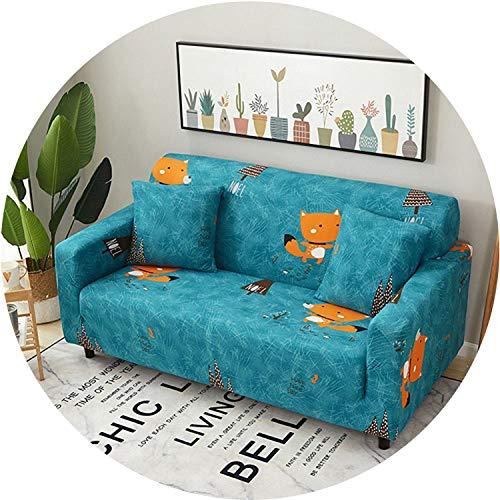 Little Happiness- Universal Sofa Cover Flexible Stretch Big Elasticity Couch Cover Loveseat Sofa Furniture Cover Sofa Towel 1/2/3/4-seat Sofa Funda,Dark Grey,3 Seats ()