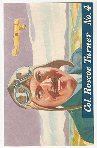 F277-5, H.J. Heinz, Famous Aviator Premium, 1937, 2 Turner (trimmed)