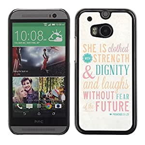 LOVE FOR HTC One M8 Quote Motivational God Religion Christian Personalized Design Custom DIY Case Cover