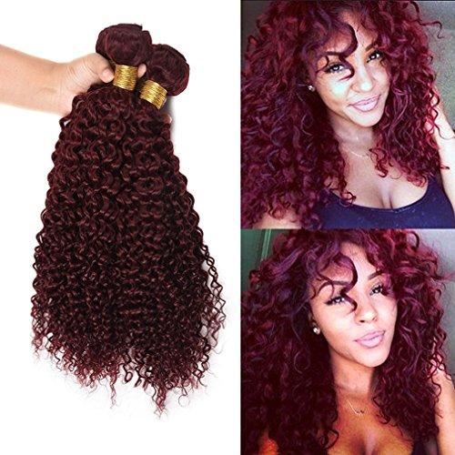 Wome Hair Peruvian Hair Products Extentions Red Wine Color J