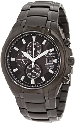 Citizen Watches Mens BM7170-53L Eco-Drive Titanium Watch