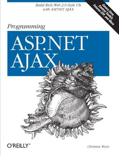 Programming ASP.NET AJAX: Build rich, Web 2.0-style UI with ASP.NET AJAX by Brand: O'Reilly Media