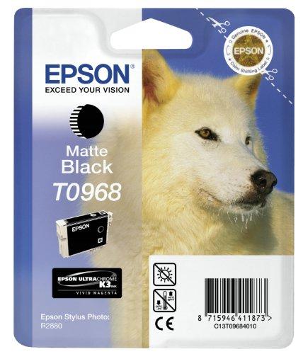 Epson C13T09684010 (T0968) Ink cartridge black matt, 495 pages, (Epson Matt)