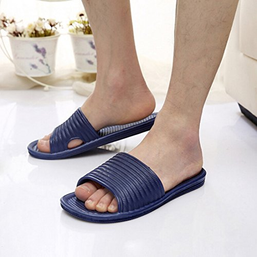 Jiyaru Proof Unisex Sandal Beach Home Skid Couples Slippers Navy rSBFwrOq