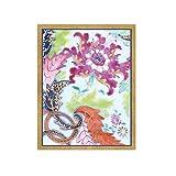 Caspari Tobacco Leaf Gift Enclosure Cards, 12 with