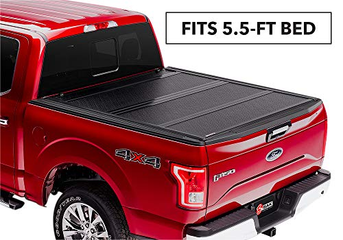 BAKFlip FiberMax Hard Folding Truck Bed Tonneau Cover | 1126329 | fits 2015-19 Ford F150 5' 6