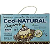 Broody Chick Eco-Natural Diapers, Infant, 32 Count
