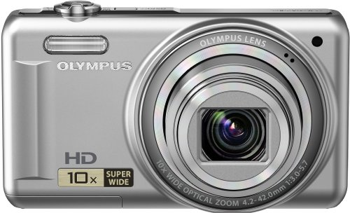 Cheap Olympus VR-310 Digital Camera 14MP 10x Zoom 720p HD 3″ LCD – Silver