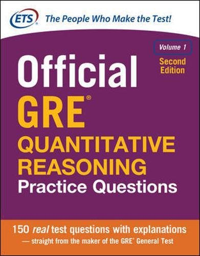 Official GRE Quantitative Reasoning Practice Questions, Second Edition, Volume - For Gifts Graduates New