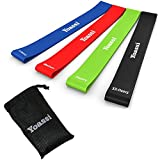 #3: Resistance Bands Set Exercise Bands - Thicker Workout Bands Stretch Bands - Premium Workout Bands Kit for Legs Butt Glutes Yoga Fitness Physical Therapy Home Equipment Training for Women Men