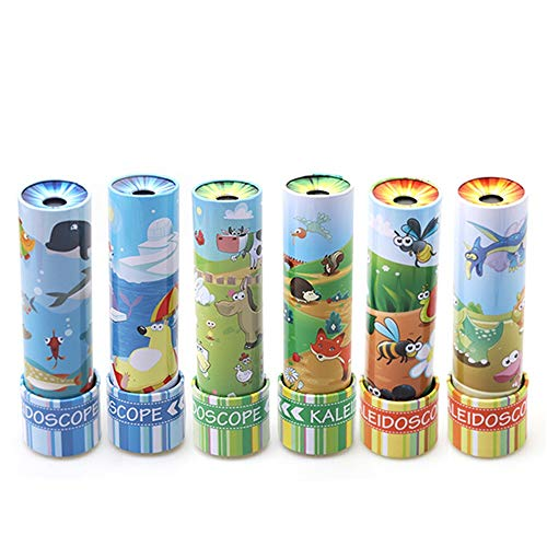 Yingealy Unique Gift 1 pc Rotating Kaleidoscope Children's Educational Multi Prism Classic Toy(Animal World) by Yingealy