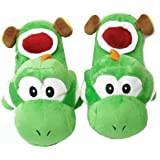 Super Mario Brothers : Yoshi Slippers (Green) by Super Mario Brothers
