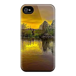 Fashionable Kzr24464bSKB Iphone 6 Cases Covers For Amazing Pond Of Golden Reflections Protective Cases