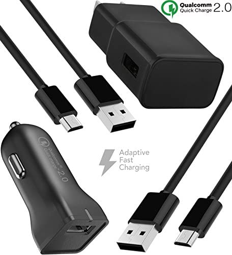 : Boxgear Adaptive Fast Wall Charger, Car Charger