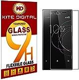 Kite Digital Sony Xperia R1 Plus Premium Tempered Glass Screen Protector Slim 9H Hardness 2.5D