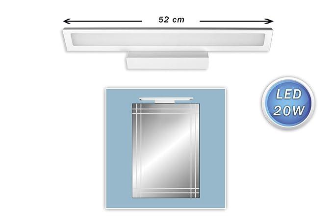 Vetrineinrete lampada da specchio led watt orientabile con