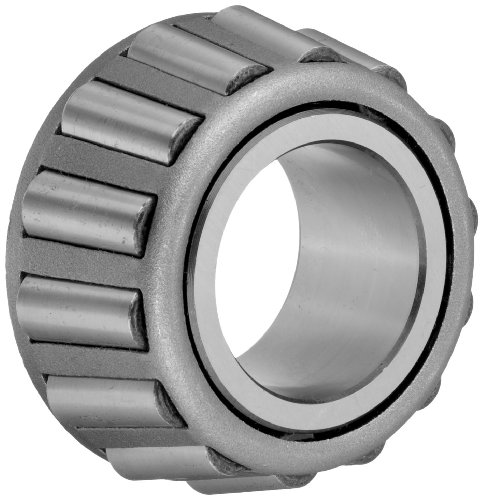 Timken 16143 Tapered Roller Bearing, Single Cone, Standard Tolerance, Straight Bore, Steel, Inch, 1.4375