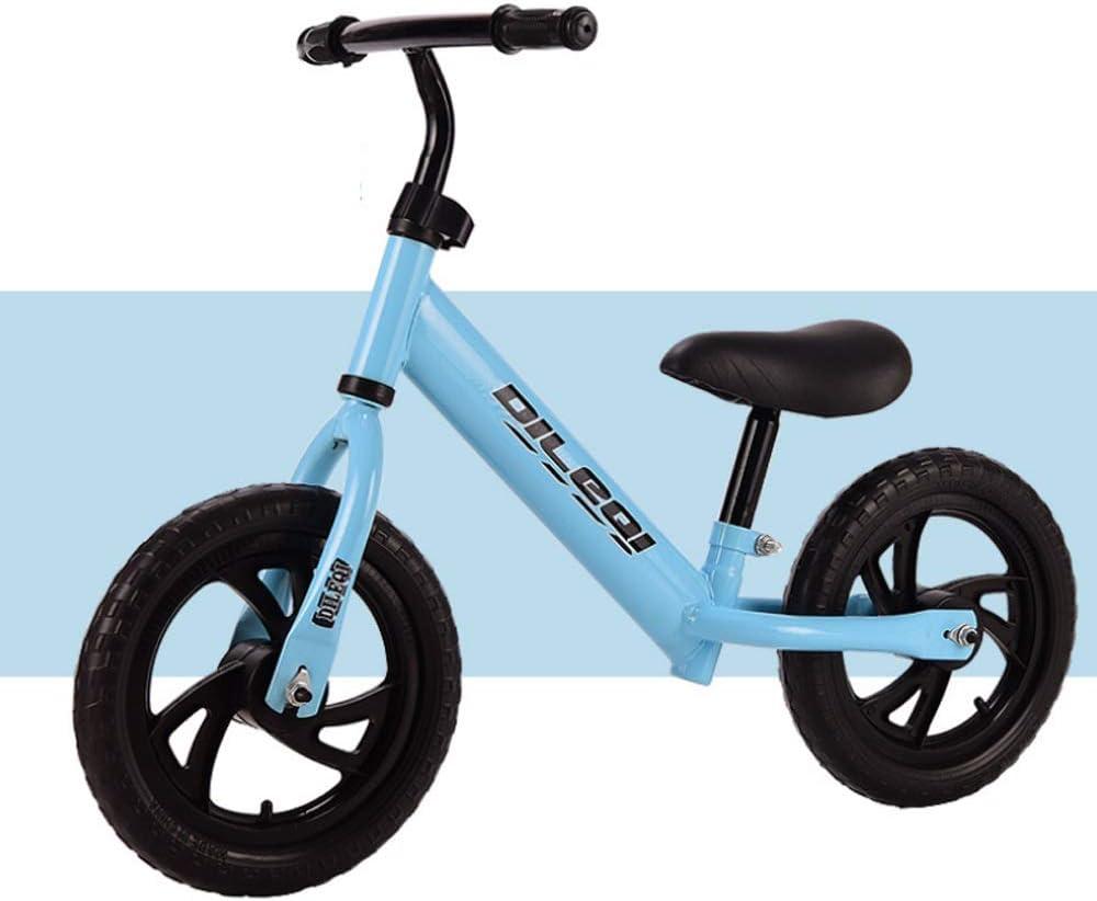 MEILA Bicicleta de entrenamiento de equilibrio 12 Bicicleta deportiva de equilibrio Ligero sin pedal Bicicleta de entrenamiento de equilibrio for niños y niños pequeños Bicicleta sin ruedas de dos rue: Amazon.es: Deportes