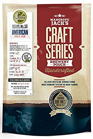 Mangrove Jacks Craft Series sin gluten American Pale Ale con Dry Hops