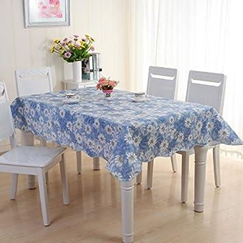 LYINHGL Nappe de Tissu de Table Basse en Plastique carrée ...