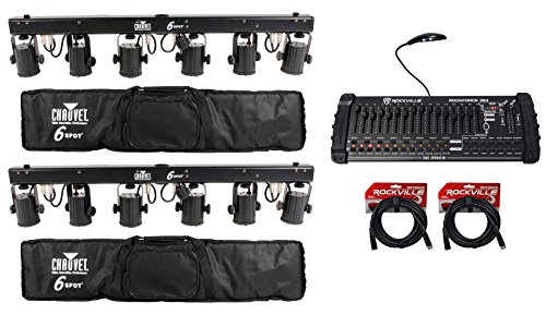 Chauvet 6Spot Led Color Changer Lighting System - 4