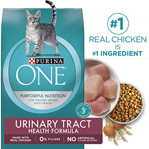 Purina ONE Urinary Tract Health Dry Cat Food; Urinary Tract Health Formula - 22 lb. Bag ()