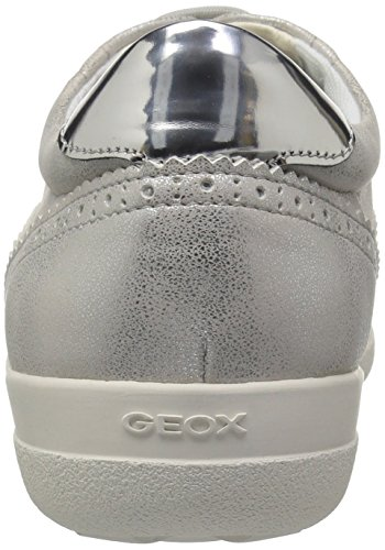 Sneaker Geox Off Nihal White Silver 1 Donne Delle OZqHw5Ixx