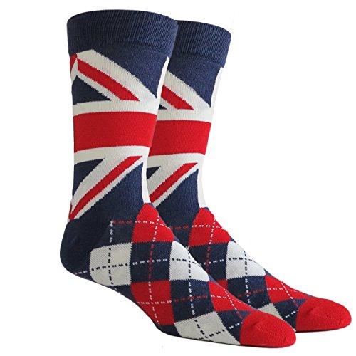 union jack socks - 2