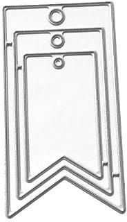 Ranuw Matrices De D/écoupe,Fleur Feuille En M/étal De Coupe Meurt Pochoir DIY Scrapbooking Album Timbre Papier Carte Embossage Artisanat D/écor