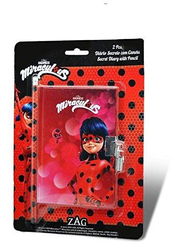 A2Z 4 Kids® Kids LY17080 –Ladybug Diario con Penna, 15x 10cm