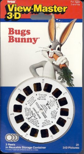 Bugs Bunny View-Master 3 reel Set - 21 3-D ()