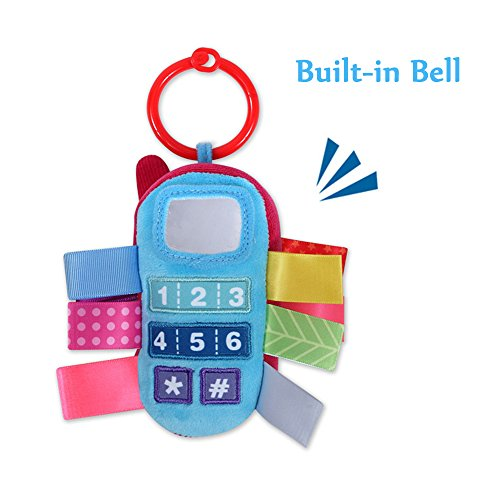 Inchant Baby Rattle Toy Kids Stroller Hanging Bell cellphone