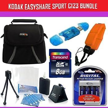 Amazon.com : 8GB Accessory Kit For Kodak EasyShare Sport