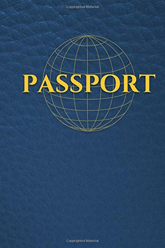 Download Passport: Blank Passport Book, Use with Stamps, Pencils, Crayons, Markers, (Notebook, Journal) (Kids Crafts) (Volume 1) PDF